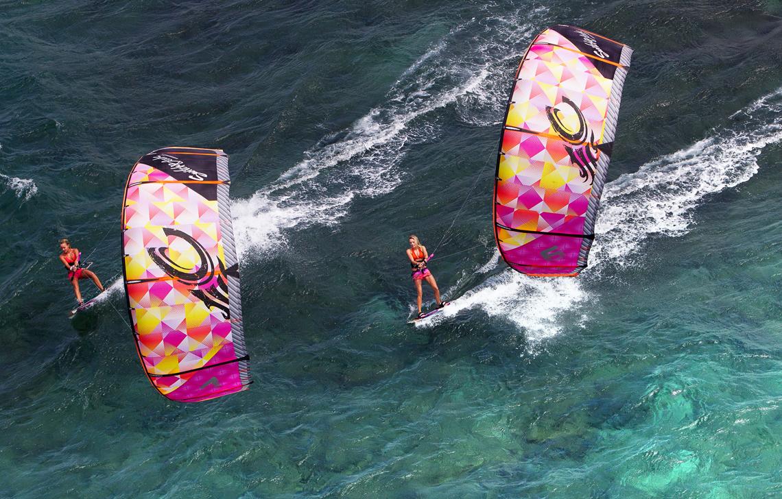 Annabel van Westerop and Susi Mai cruising on the 2014 Siren