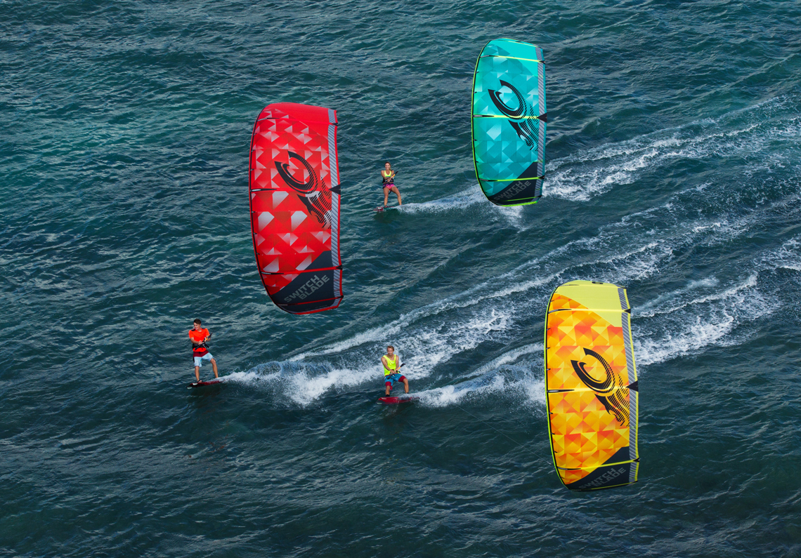 Cabrinha 2015 Switchblade cruising trio