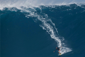 Ben Wilson on what must be the biggest wave ever kitesurfed